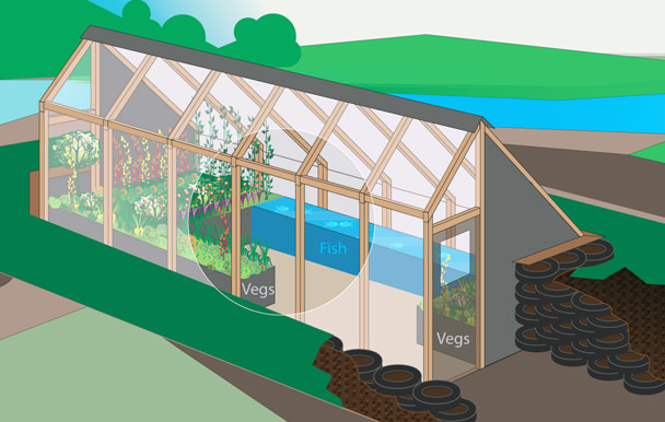5 northern greenhouse examples for cold climates walden labs for Inground pool greenhouse