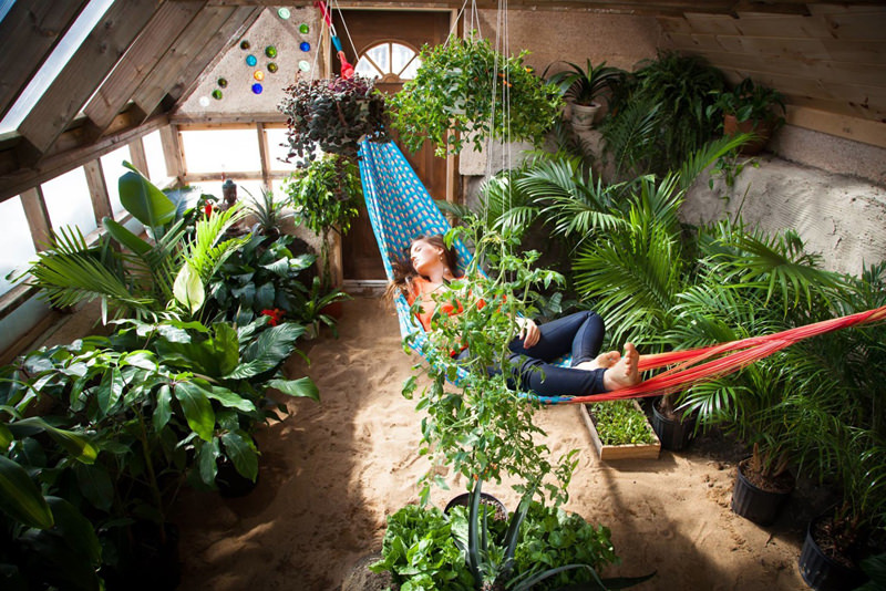 Earthship Greenhouse