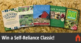 5 Classic Books on Self-Reliance & Homesteading for Under $25