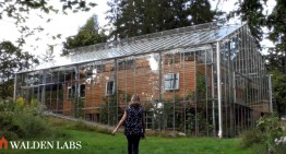 Family Wraps Their Home In A Greenhouse To Protect It From The Cold