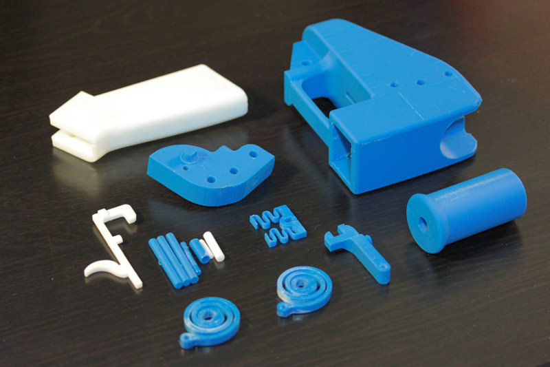 The Liberator 3D-printable gun