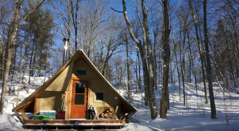 4-Season Off-Grid Prospector-Style Tent A Tiny House Alternative - Walden Labs : prospector tents - memphite.com