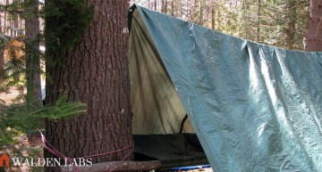 15 Tarp Shelter Designs For Simple Camping Comfort