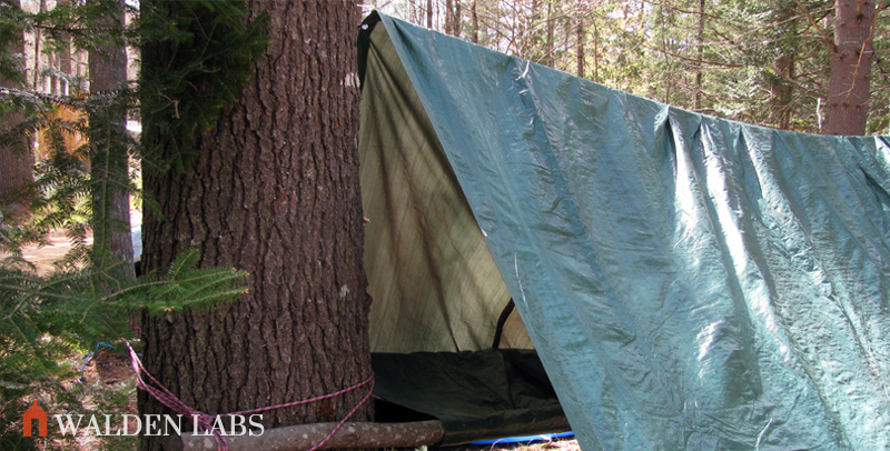 & 15 Tarp Shelter Designs For Simple Camping Comfort - Walden Labs