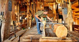 How A Wind Powered Sawmill Works
