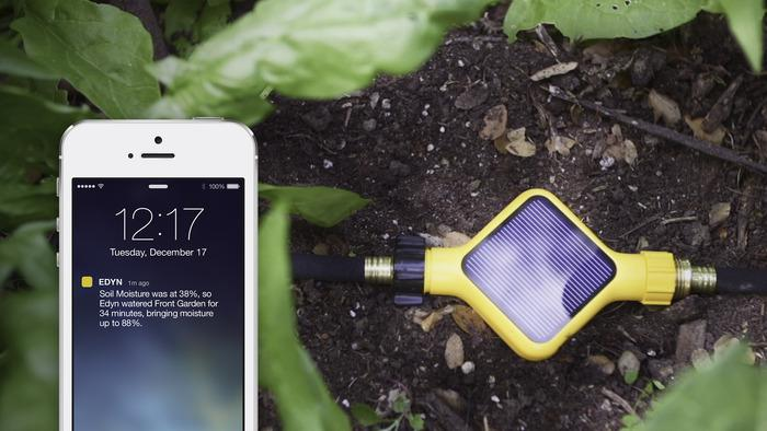 Edyn smart garden water valve