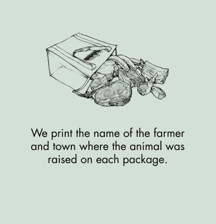The farmer's name is right on the package!