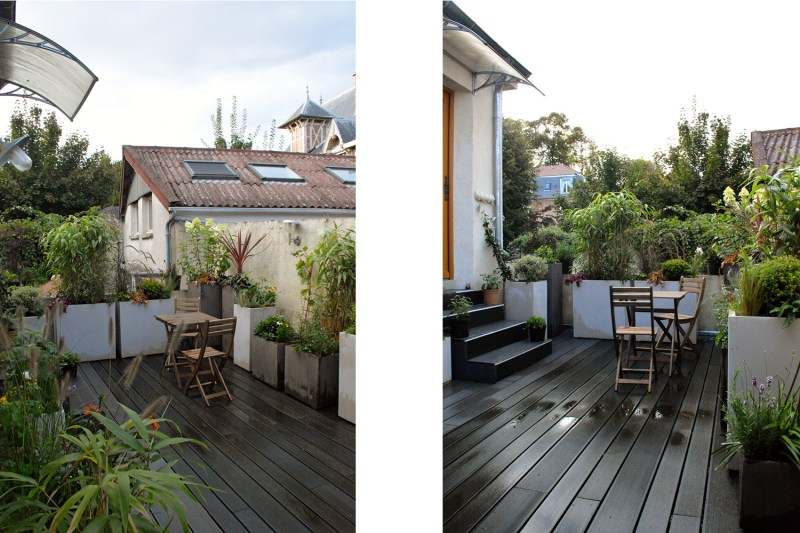 Walden Paysage Terrasse Romantique Louveciennes Paris