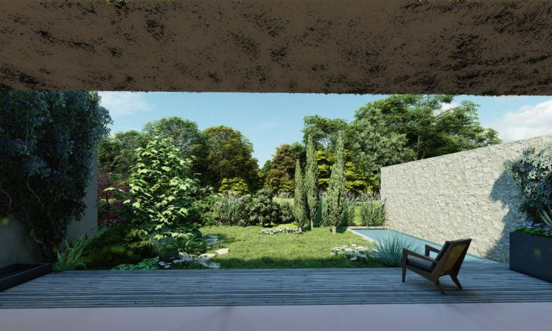 Walden Paysage Jardin Méditerranéen