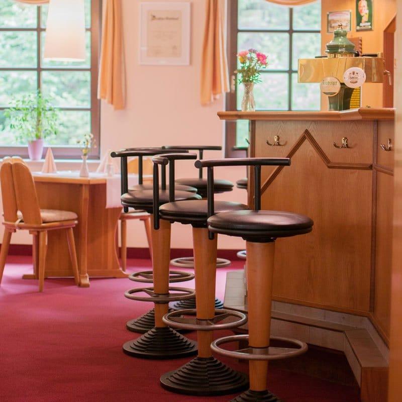 Bar im Restaurant Waldfrieden