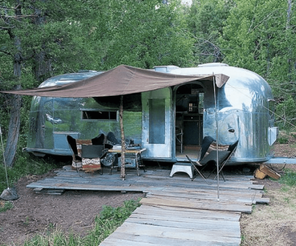 RRL Ranch Airstream Trailer