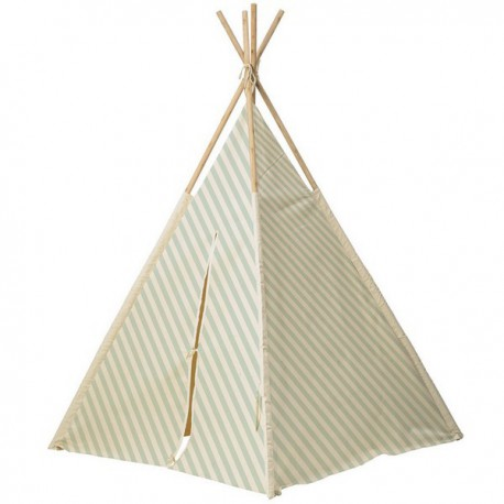 bloomingville-children-s-tipi-off-white-mint-striped