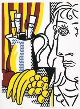 lichtenstein picasso