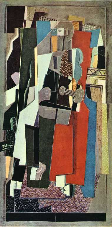 georges braque the-musician-1918