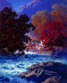 Swiftwater 1953 - Maxfield Parrish