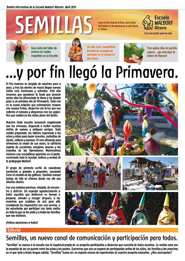 Revista Waldorf Alicante