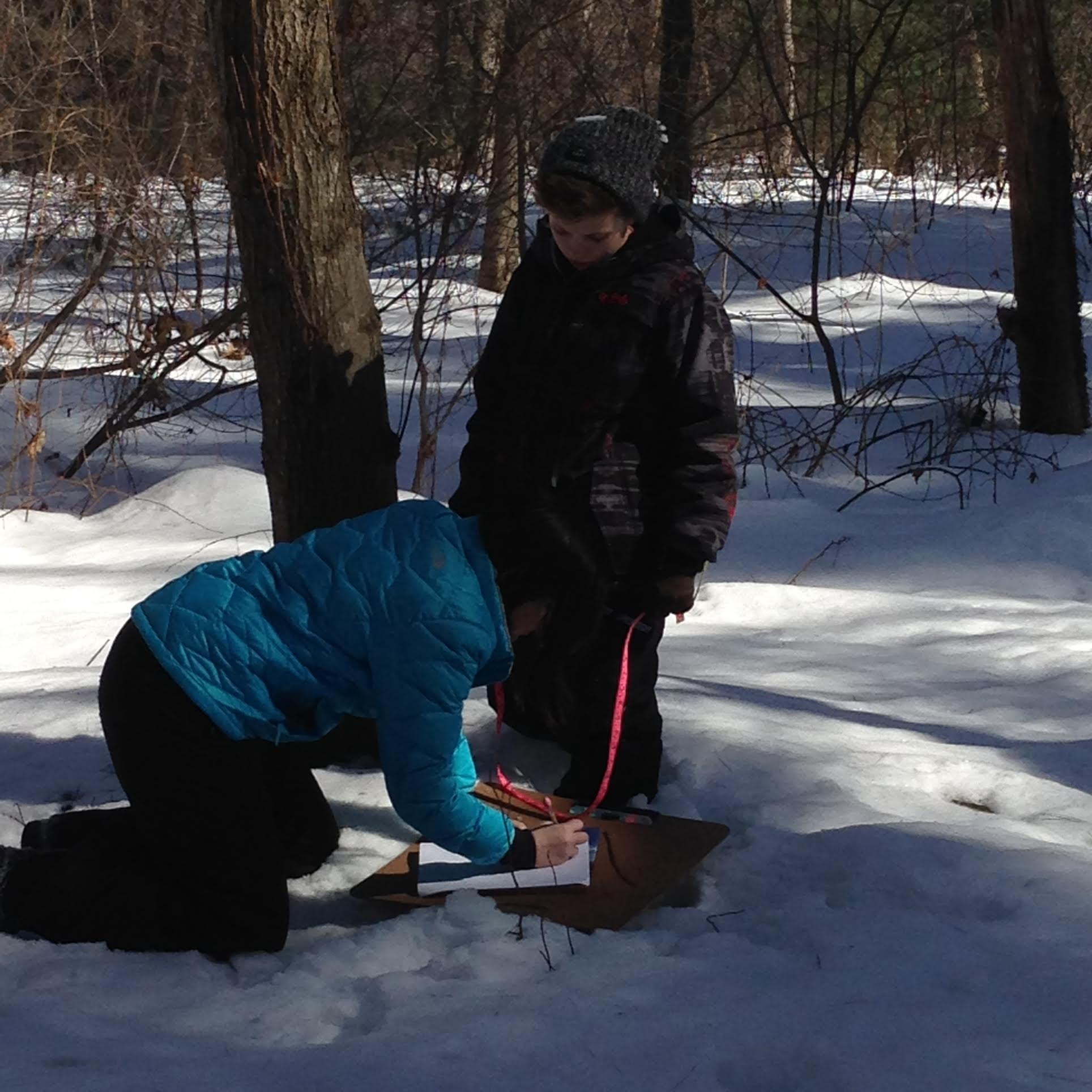 Middle School Brings Math Outdoors On Pi Day