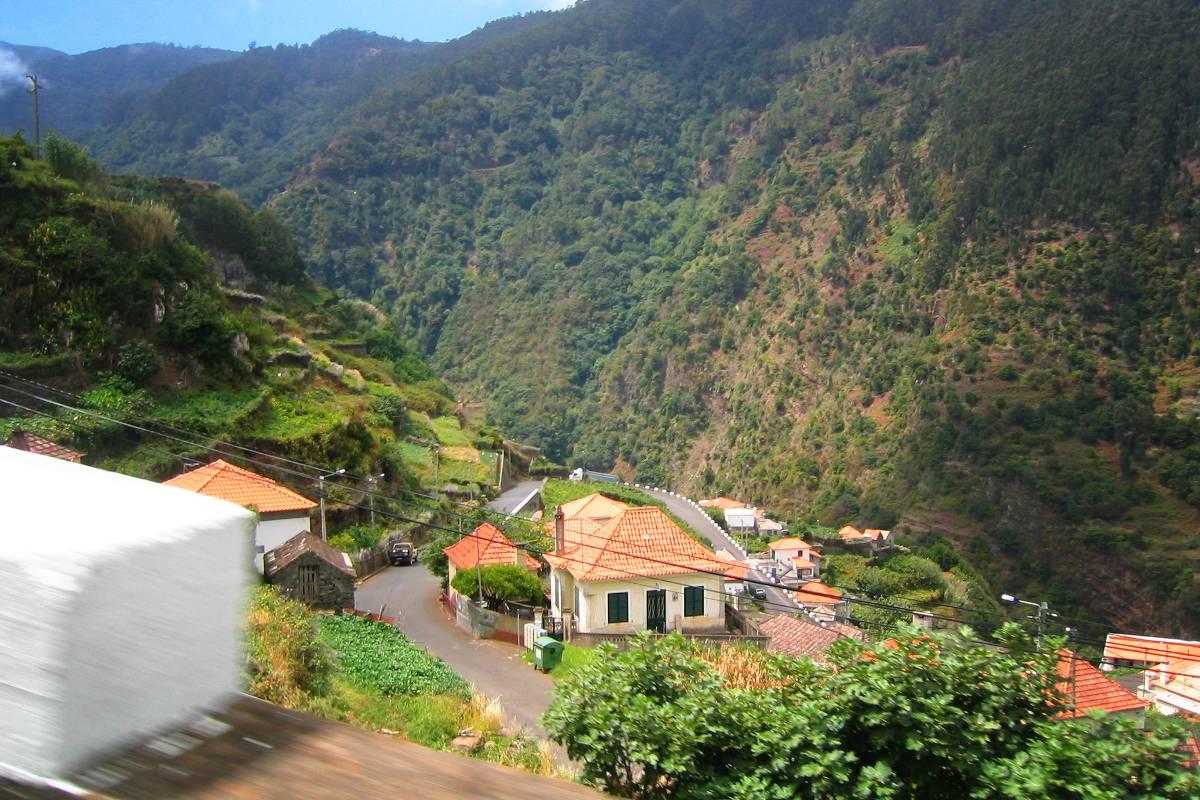 Zum Feuer auf Madeira
