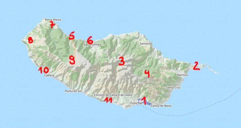 Madeira Sehenswürdigkeiten   Waldspaziergang.org