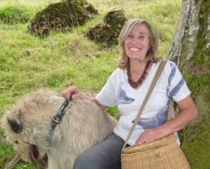 Susanne Fischer-Rizzi mit Hund