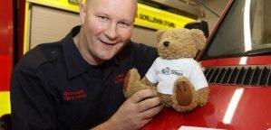 Welshpool Firefighter, Chris Birdsell-Jones wins Supporter of the Year
