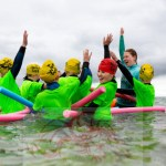 Swim Safe returned to deliver free water safety lessons to kids at Plas Menai