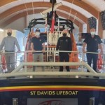 Pembrokeshire RNLI lifeboat crews awarded for saving the lives of two divers