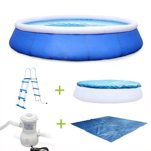 piscine autoportee 460cm accessoires emeraude