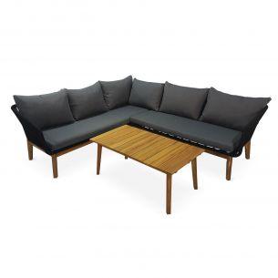 salon de jardin table et chaise