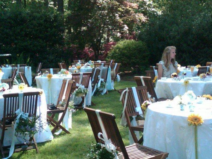 Dekorasi Pernikahan Garden Party Pict