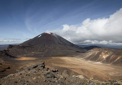 Tongariro Alpine Crossing, one of the best days on the TA!