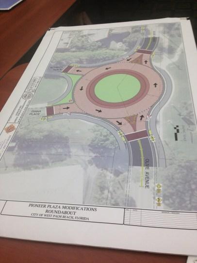 New roundabout