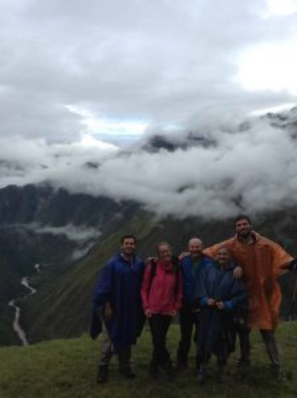 scenery on the inca trail