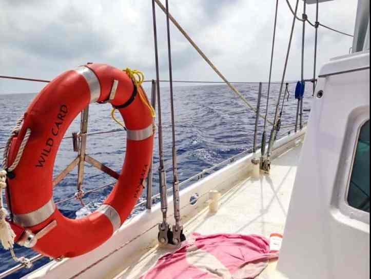 sail boat to the san blas islands