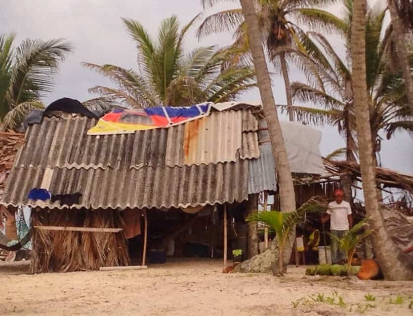 a traditional home of a kona tribe on the san blas islands