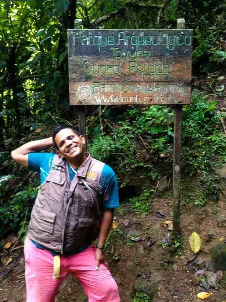 our trekking colombia guide in ciudad perdida