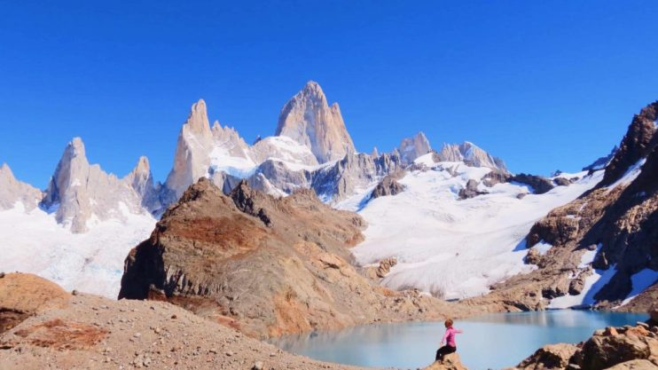 mount fitz roy los glaciers national park Argentina