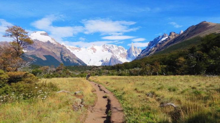 the trail to mount fitz roy argentina