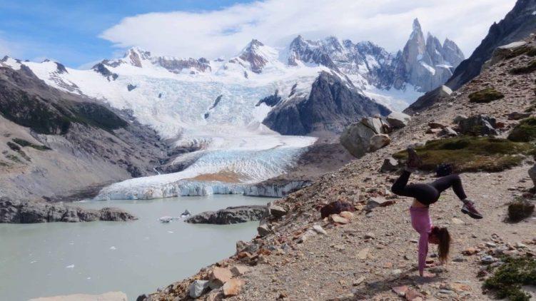 grande glacier in patagonia