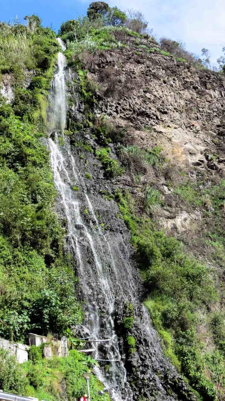 Waterfall tour banos ecuador