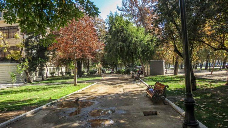 Parque Forestal pathway