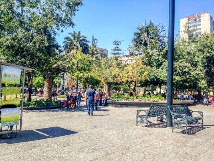 Plaza de Arma Santiago