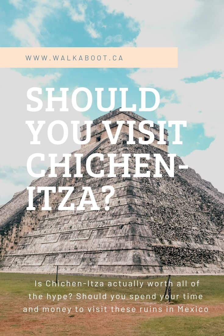 Chichen Itza tourist destination