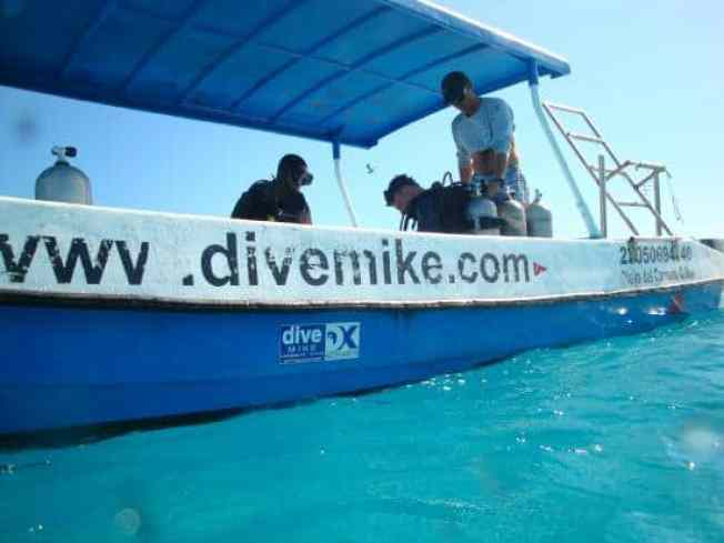 dive mike boat