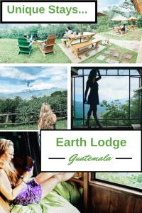 Unique Stays earth lodge pin