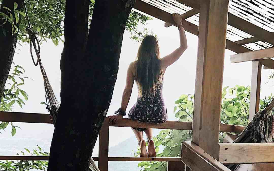Tree House Livin' at Earth Lodge Guatemala