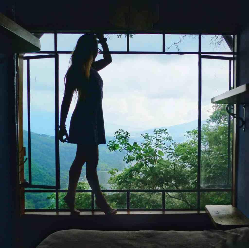 window view earth lodge