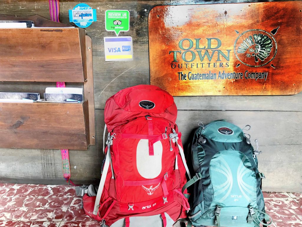 osprey backpacks at old town outfitters