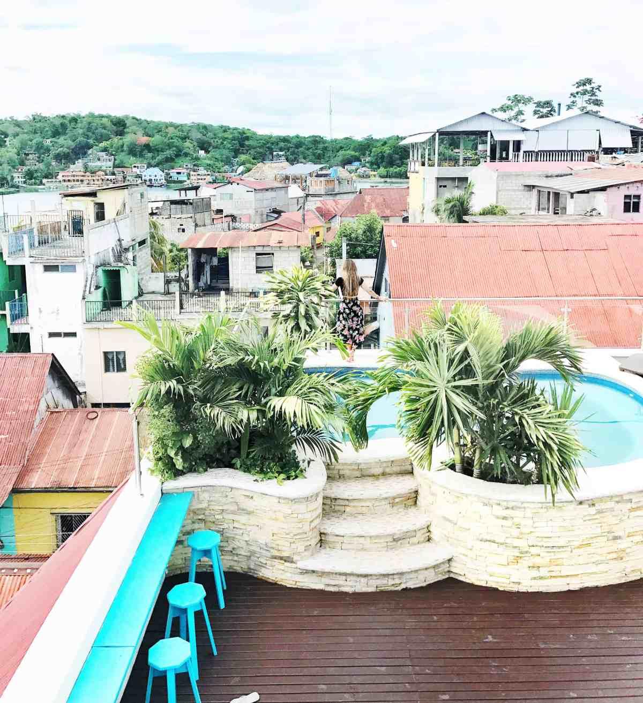 hotel isla de flores rooftop pool