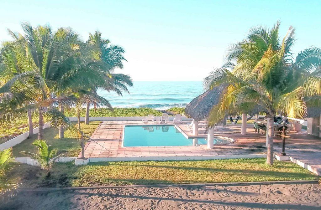 hotel view in monterrico guatemala